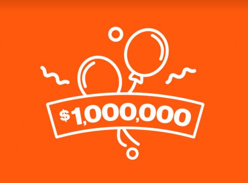 Celebrating 1 million